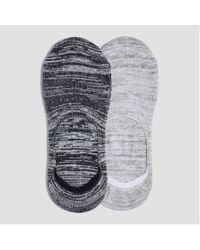 Joe Fresh - 2 Pack Marled No Show Socks - Lyst