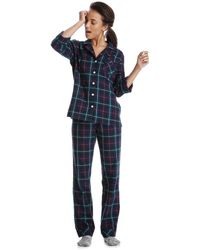 Joe Fresh - Print Flannel Sleep Set - Lyst