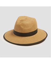 Joe Fresh - Straw Fedora - Lyst