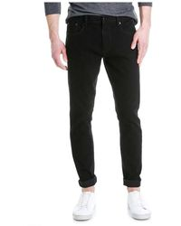 Joe Fresh | Men's Slim Straight Black Jean | Lyst