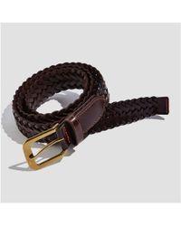 Joe Fresh - Men's Square Buckle Leather Belt - Lyst