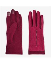 Joe Fresh - Faux Suede Gloves - Lyst