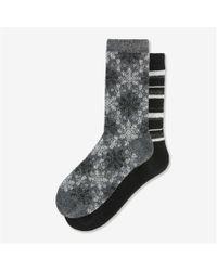 Joe Fresh - 2 Pack Wool Blend Socks - Lyst