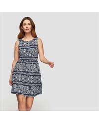 Joe Fresh - Print Sleeveless Dress - Lyst