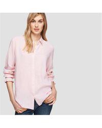 Joe Fresh - Smocked Sleeve Shirt - Lyst