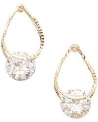 Joe Fresh - Crystal Drop Earrings - Lyst