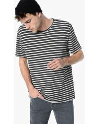 Joe's Jeans - Engineered Blk/wht French Terry Stripe - Lyst