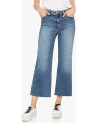 Joe's Jeans - Taylor Hill X Joe's   Fashion Flare Crop - Lyst