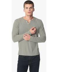 4b56bf9b Joe's Jeans Wintz L/s Henley in Green for Men - Save 36% - Lyst