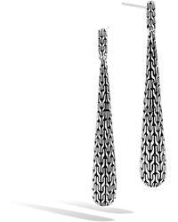 John Hardy - Classic Chain Drop Earring - Lyst