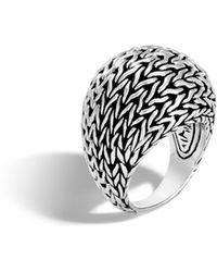 John Hardy - Classic Chain Dome Ring - Lyst
