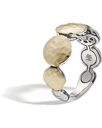 John Hardy - Hammered Band Ring - Lyst