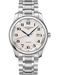 Longines - Master Collection Stainless Steel Watch - Lyst
