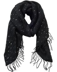 Betty & Co. - Long Fringed Scarf - Lyst