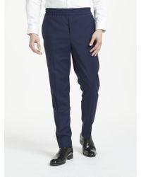J.Lindeberg | Italian Comfort Wool Slim Fit Suit Trousers | Lyst