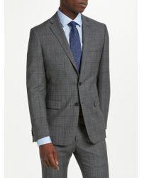 Richard James - Plaid Check Slim Suit Jacket - Lyst