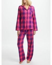 John Lewis - Check Pyjama Gift Set - Lyst
