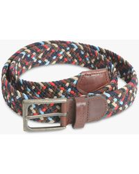 Barbour - Ford Stretch Webbing Belt - Lyst