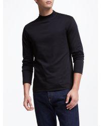 J.Lindeberg - Turtle Neck Long Sleeve T-shirt - Lyst
