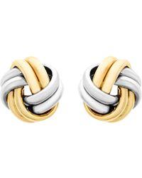 2e35c1e854ba71 John Lewis A B Davis 18ct Yellow Gold Cultured Pearl Stud Earrings ...