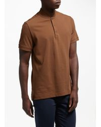 J.Lindeberg - Leo Pique Polo Shirt - Lyst