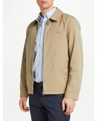 GANT - Windcheater Collared Jacket - Lyst