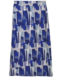 5b7fbc9e3b White Stuff Ines Crinkle Woven Maxi Skirt in Blue - Save 29% - Lyst