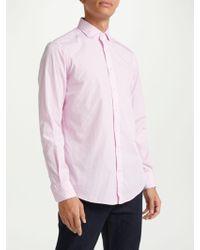Hackett - Jacquard Bengal Stripe Shirt - Lyst