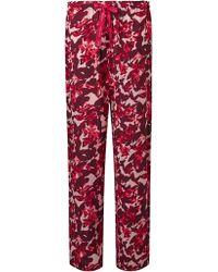 Calvin Klein - Floral Print Pyjama Bottoms - Lyst