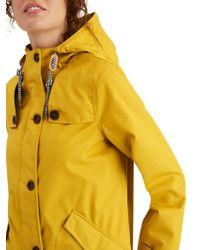 Joules - Coastal Waterproof Hooded Coat - Lyst