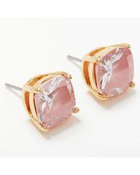 Kate Spade - Mini Square Stud Earrings - Lyst