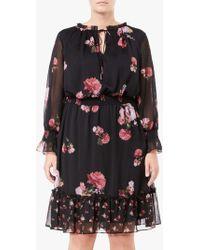 Adrianna Papell - Loving Boho Floral Print Dress - Lyst