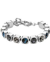 Dyrberg/Kern - Swarovski Crystals Tennis Bracelet - Lyst