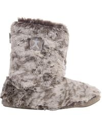 Bedroom Athletics - Cole Faux Fur Slipper Boots - Lyst