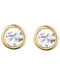Dyrberg/Kern - Thelma Small Swarovski Crystal Stud Earrings - Lyst