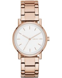 DKNY - Ladies Rose Gold 'soho' Analogue Watch Ny2344 - Lyst