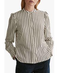 a93fb7b545ca71 Toast - Victorian Stripe Cotton Shirt - Lyst