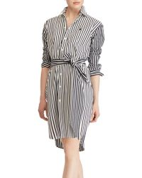 Ralph Lauren - Polo Bengal Stripe Shirt Dress - Lyst
