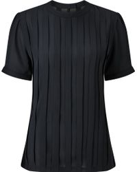 Bruce By Bruce Oldfield - Pleated Top - Lyst