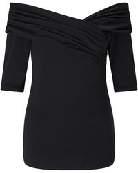 Bruce By Bruce Oldfield - 73 Nyc Wrap Shoulder Top - Lyst
