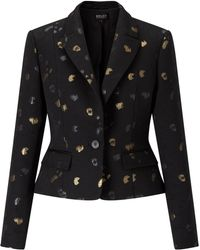 Bruce By Bruce Oldfield - Spot Jacquard Jacket - Lyst