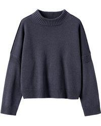 Toast - Wool Cotton Easy Jumper - Lyst