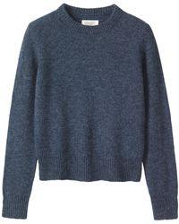 Toast - Shetland Neat Wool Jumper - Lyst