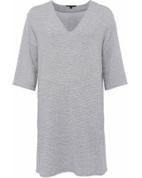 French Connection - Sudan Luella Jersey V-neck Dress - Lyst