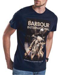 Barbour | International Shift T-shirt | Lyst