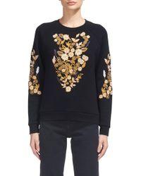 Whistles - Belize Floral Sweatshirt - Lyst