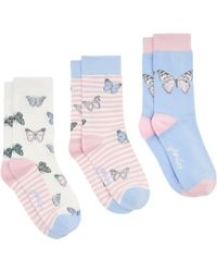 Joules | Brilliant Bamboo Butterfly Socks | Lyst