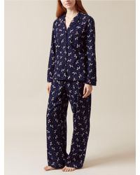 Hobbs - Poppy Dog Flannel Pyjama Set - Lyst