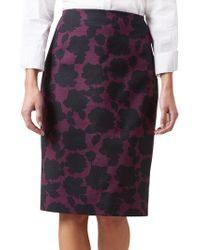 Hobbs - Multicoloured 'sophia' Skirt - Lyst