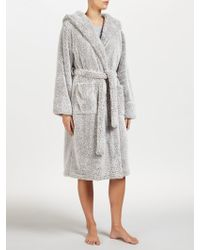 John Lewis - High Pile Fleece Robe - Lyst